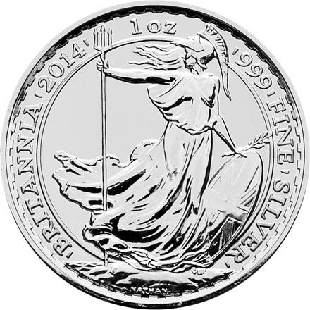 Silber Britannia 1/1