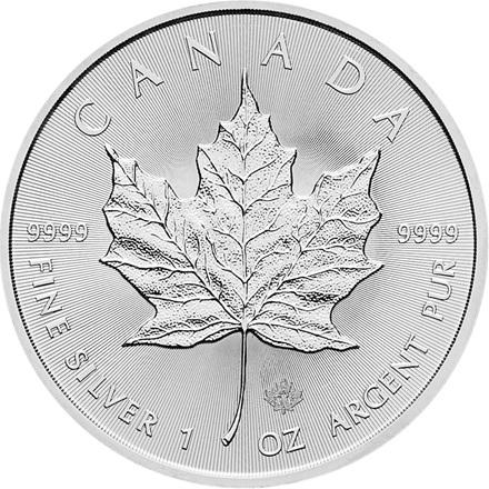 Silber Maple Leaf 1/1