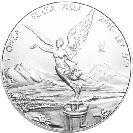 (Random year) 1 Oz silver Libertad Mexico  Front
