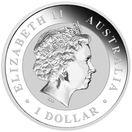 Silber Wedge Tailed Eagle 1 oz - 2016